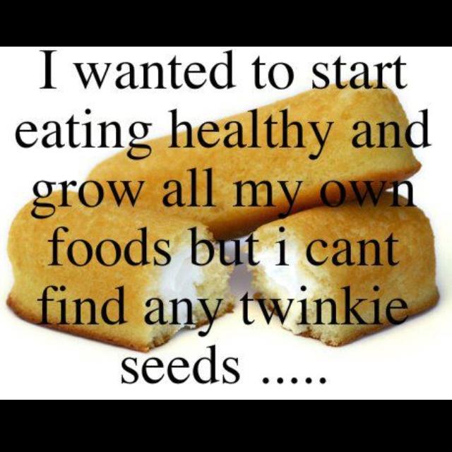 Growing health food.
