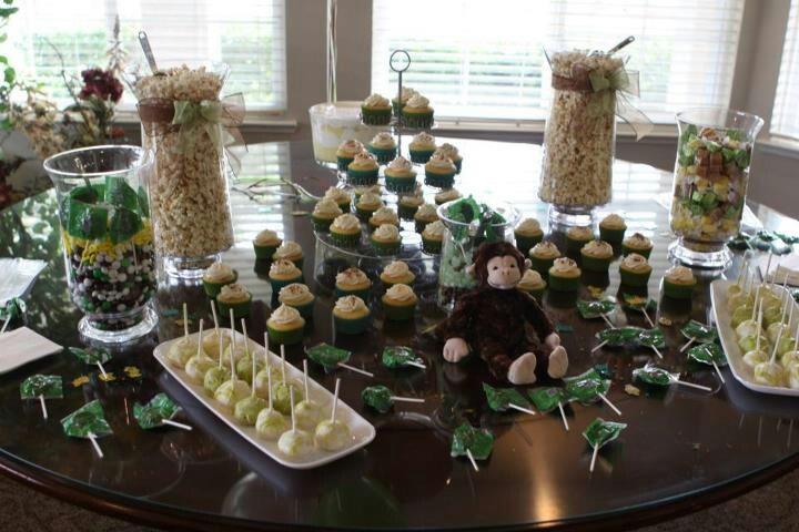 my baby shower dessert bar babyshowers pinterest