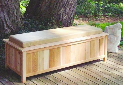 Wooden Storage And Sitting Bench Ideas Pinterest