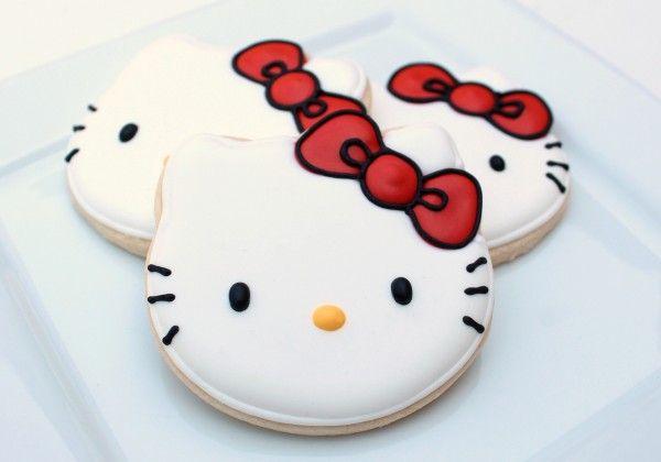 Perfect Hello Kitty Cookies