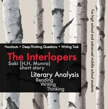 Essay questions for the interlopers