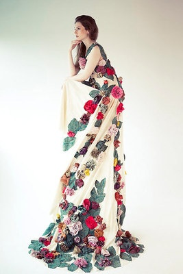 Recycled dress.