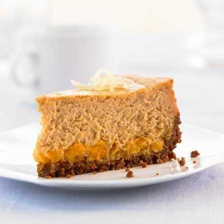 Ginger-sweet Potato Cheesecake | food | Pinterest