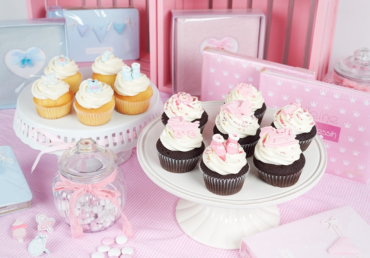 Baby Shower Cupcakes Princess Cupcakes Pinterest