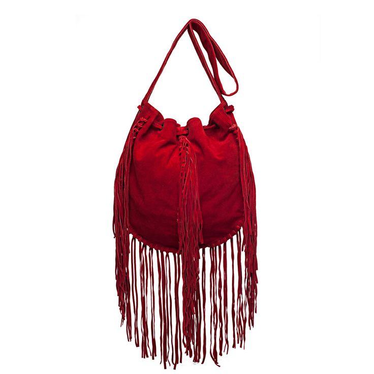 I love the Raj Imports Raina Drawstring Bag from LittleBlackBag