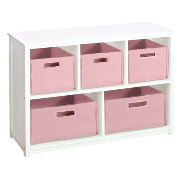classic white bookcase storage bins kids furniture pinterest. Black Bedroom Furniture Sets. Home Design Ideas