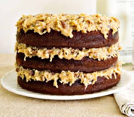 german chocolate cake | Recipes | Pinterest