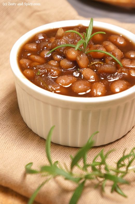 Stove Top - Guinness, Maple & Rosemary Baked Beans