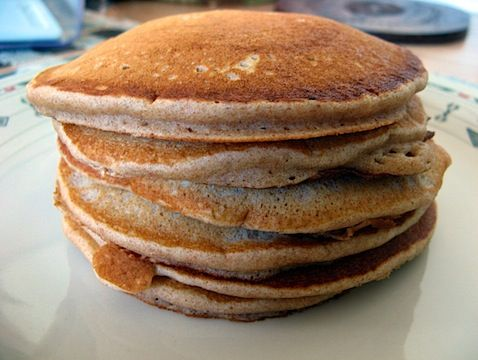 Whole Wheat Pancakes. This is my go to pancake recipe. I do half whole ...