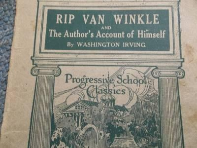 rip van winkle and american dream Rip van winkle is a short story by the american author washington irving first  published in  and kaatskill serenade by david bromberg in the belle and  sebastian song i could be dreaming an extract from rip van winkle is read.