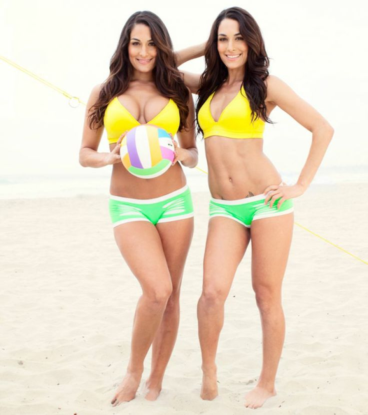 Bikini nikki brie and bella