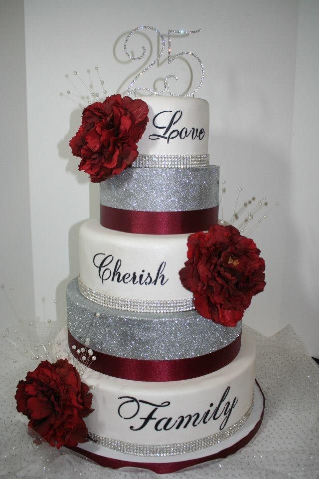 Bling Wedding Cake Cakes For Weddings Pinterest