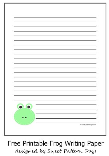 Large writing paper