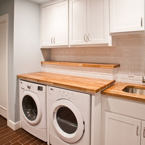 Countertop Options For Laundry Room : laundry room design