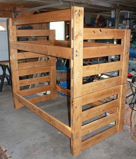 instructables: modular bunk beds   rv renos   Pinterest