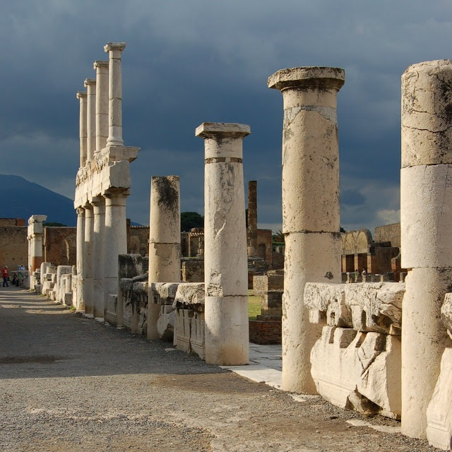 There are no words to describe this haunting, yet beautiful place. I can only imagine what those in ancient Pompei, Italy, must have endured on that fateful day.