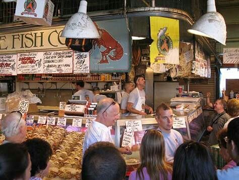 Seattle fish co pike place market seattle pinterest for Pike place fish market video