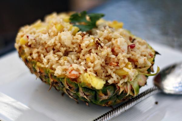 Pineapple, Coconut and Shrimp Fried Rice | Rice | Pinterest