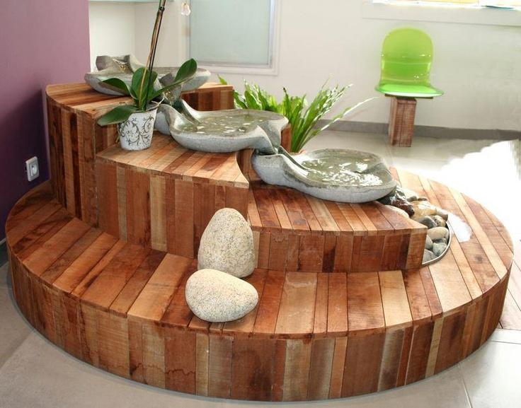 Fontaine belleza de parques y jardines pinterest - Ambiance chambre zen ...