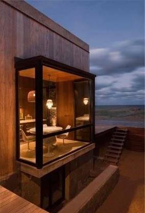Modern bay window exterior pinterest for Contemporary bay window designs