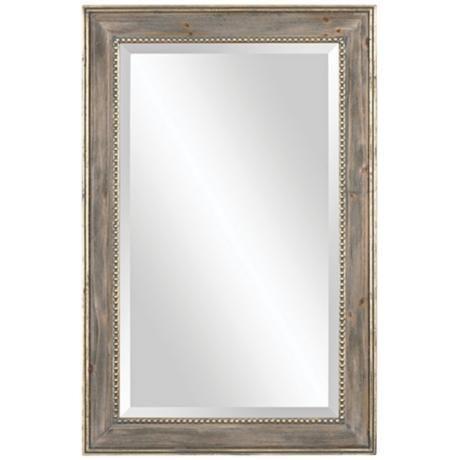 Uttermost quintana 24 x 36 rectangular wall mirror for Mirror 24 x 36