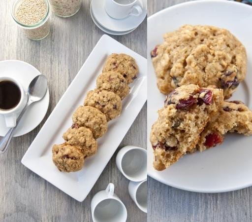 ... chip oatmeal quinoa cranberry pistachio and white cranberry pistachio