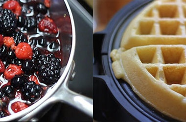 Gluten-Free Brown-Butter Yeast Waffles | ♥ Food - Desserts ...