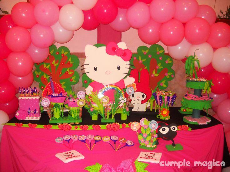 Decoracion Hello Kitty Para Cumplea?os ~ Pin by ?Clary? on Hello kitty birthday  Pinterest
