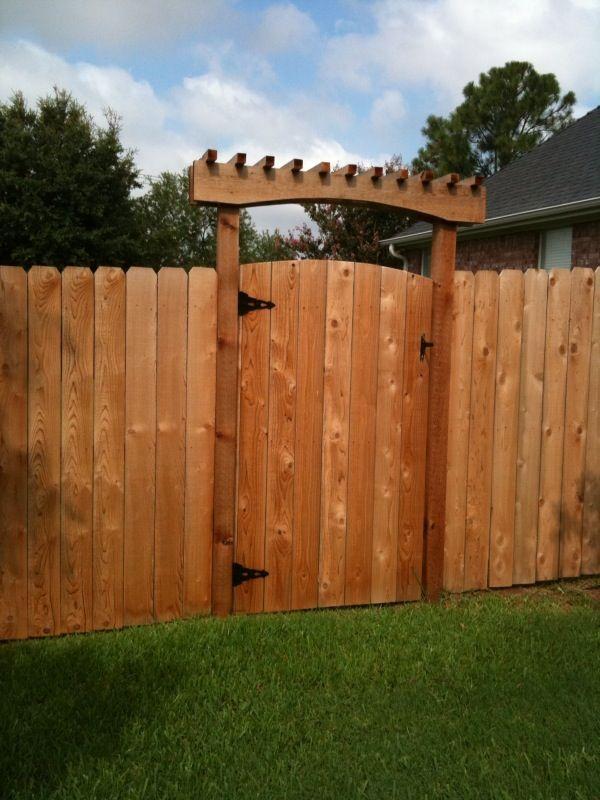 Trellis gate gates pinterest for Gate arbor plans
