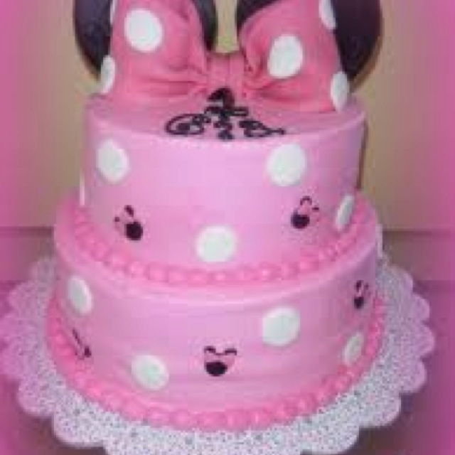 Pretty cake for a little girl