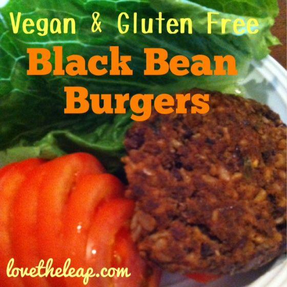 Black Bean Burger with Rice | Vegan and Vegetarian | Pinterest