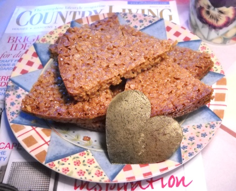 patternpatisserie: Flapjacks, British Country Living and a cup of tea ...