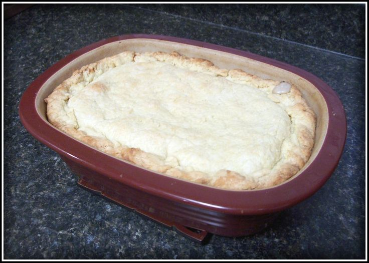 Deep Dish Chicken Pot Pie | Yummy in my Tummy | Pinterest