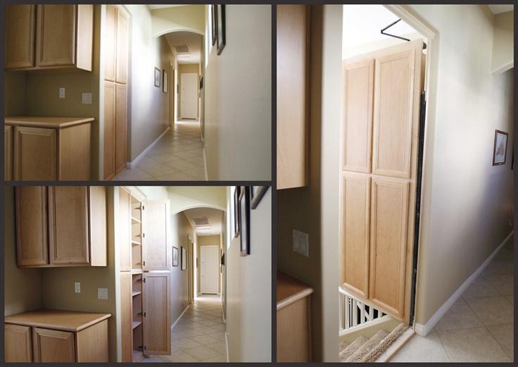 Man Cave Secret Room : Hidden door for man cave way pinterest