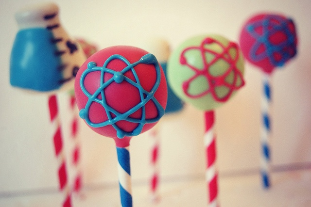 mad science cake pops   http://www.facebook.com/pages/Evie-and-Mallow/148983941800199?ref=hl