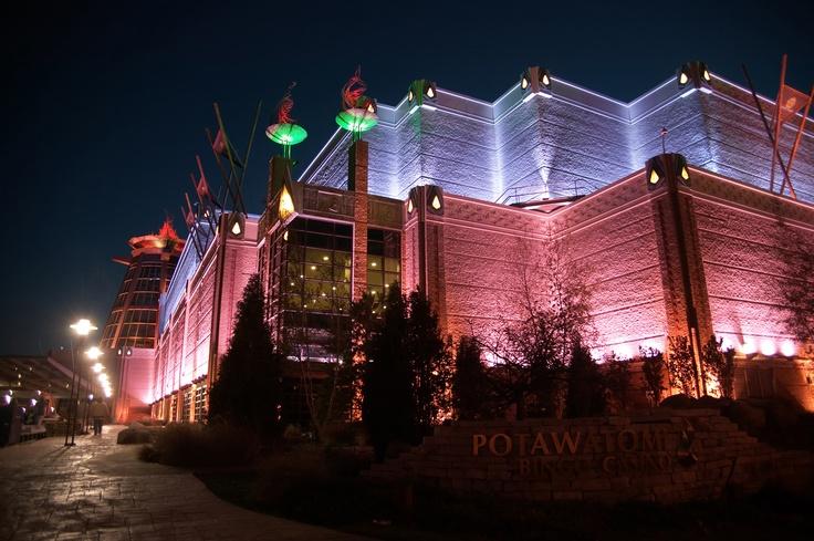 potawatomi casino milwaukee games