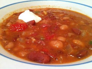 Indian-Spiced Bean and Tomato Soup - Feeding Big