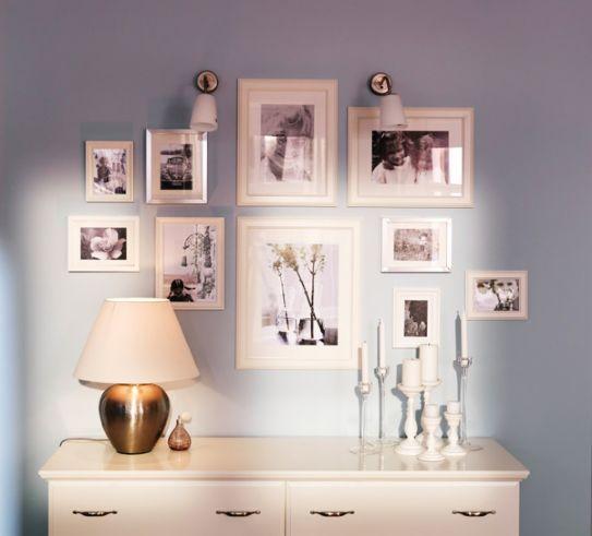 Come disporre i quadri alle pareti - Tutto per Casa
