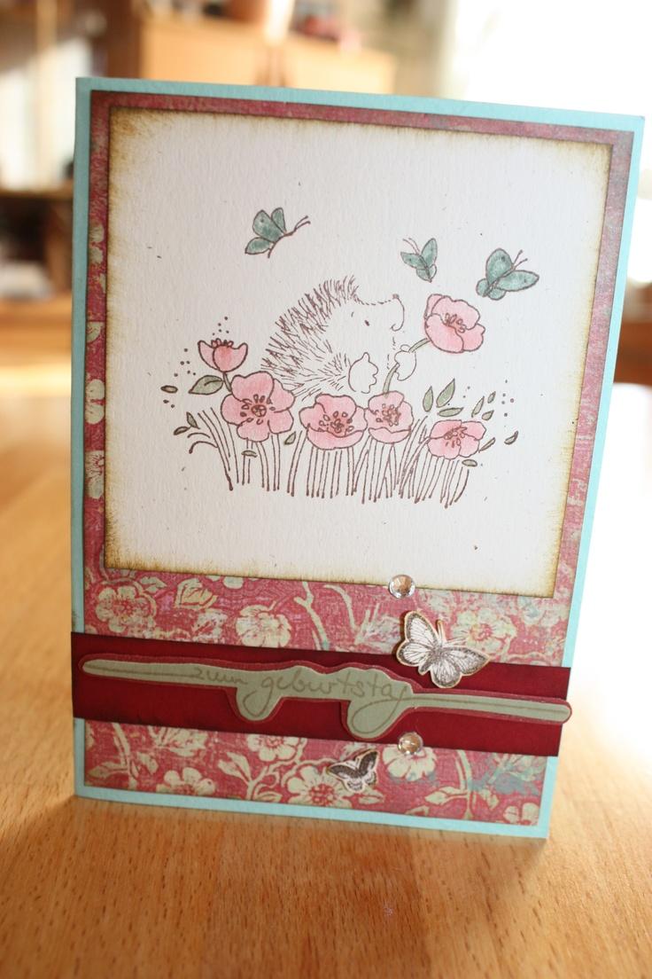 Geburtstagskarte diy by tanja pinterest for Pinterest geburtstagskarte