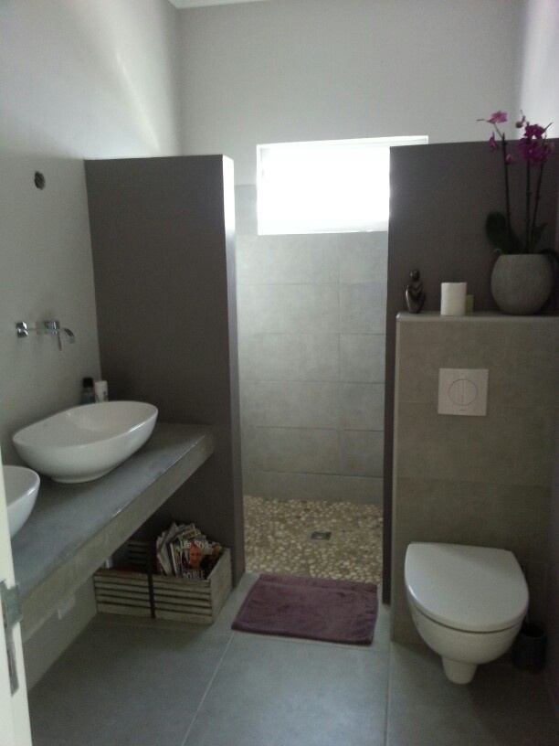 concrete countertop bathroom adobe pinterest