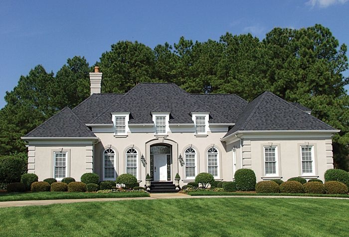 Pin by jayne seymour on the house pinterest for Single story french country house plans