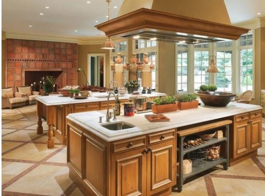 Kitchen ideas double island kitchen design ideas for Dual island kitchen designs