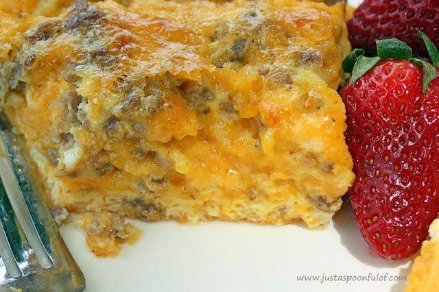 Sausage Breakfast Casserole | BREAKFAST | Pinterest
