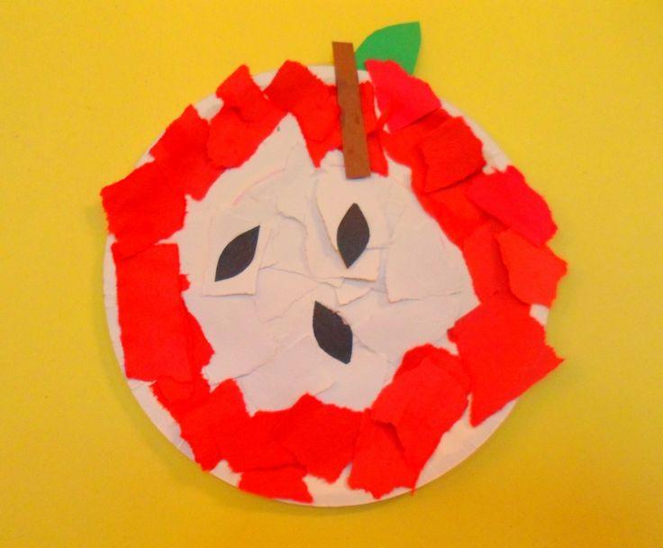 Fall Preschool Apple Craft Ideas For Crafts Preschoolers