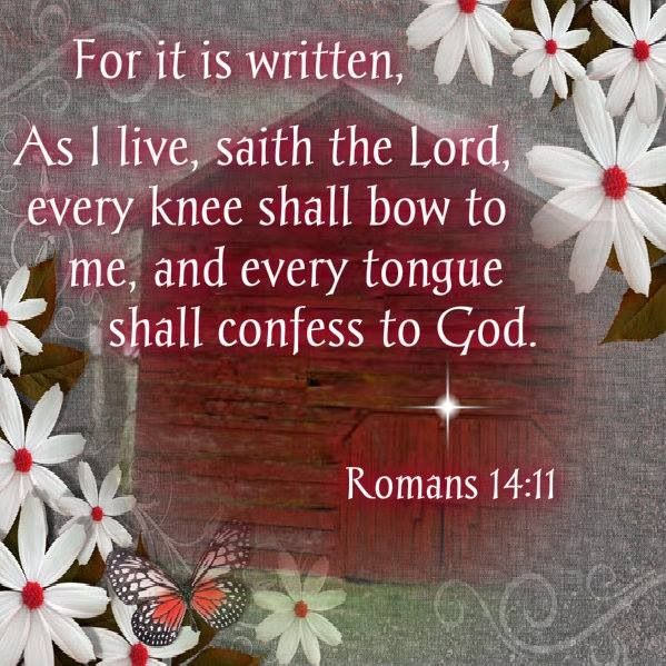 Image result for Romans 14:11