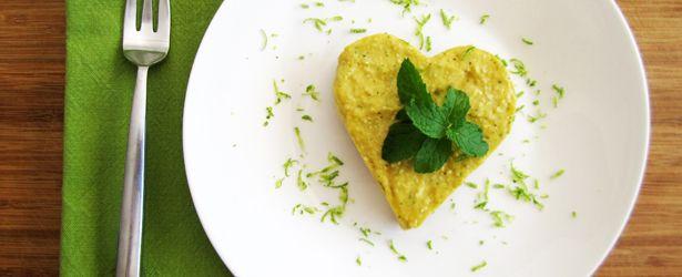 Mini Raw Mango Cheesecakes - Vegan and Gluten-Free (Use cookie-cutters ...