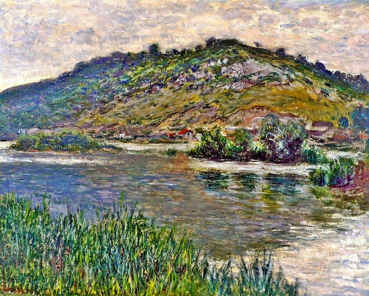 1883 Claude Monet Landscape at Port-Villez