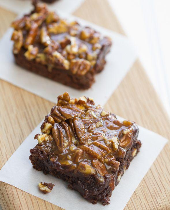 Caramel Pecan Brownies | Brownies, Blondies and Fudge | Pinterest