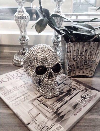 skull decor dreamy homes pinterest