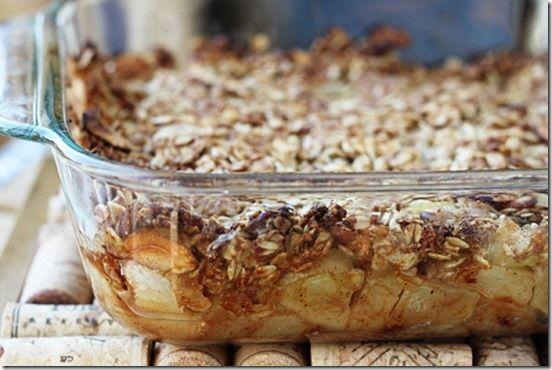 Breakfast Apple Granola Crisp | Favorite Recipes | Pinterest